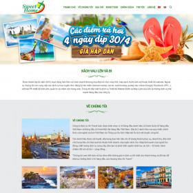 Website Du Lịch