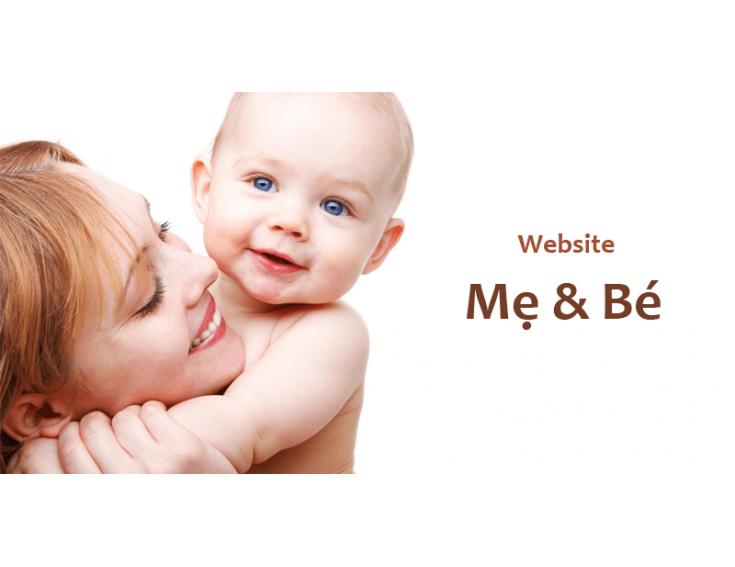 ƯU ĐIỂM KHI SỞ HỮU WEBSITE MẸ VÀ BÉ