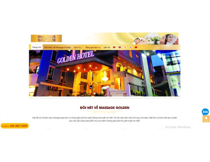 Website Massage Golden