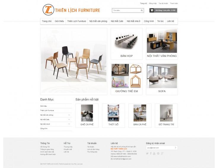 Website Nội Thất Thiên Lịch