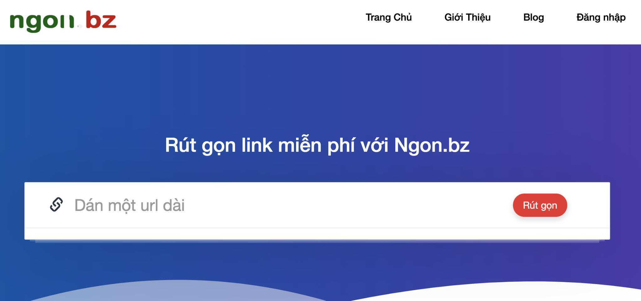 Ngon.bz - Một web link rút gọn tự triển khai độc lập