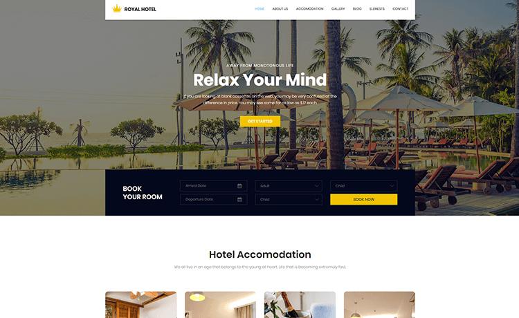 Quản lý thương hiệu bằng website khách sạn nhà hàng