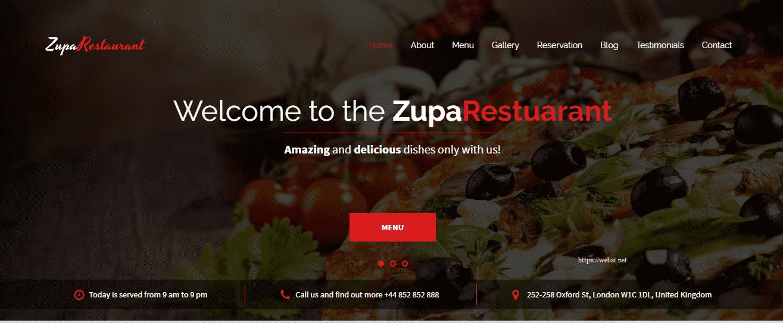 Website khách sạn nhà hàng thúc đẩy hiệu quả kinh doanh