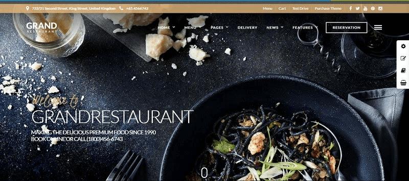 Website nhà hàng khách sạn tăng khả năng hiện diện khách hàng