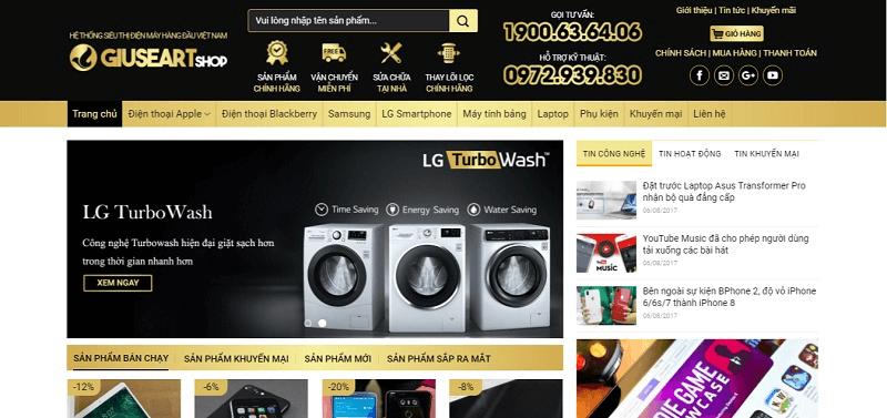 Website dịch vụ gia tăng cơ hội nhận đơn hàng