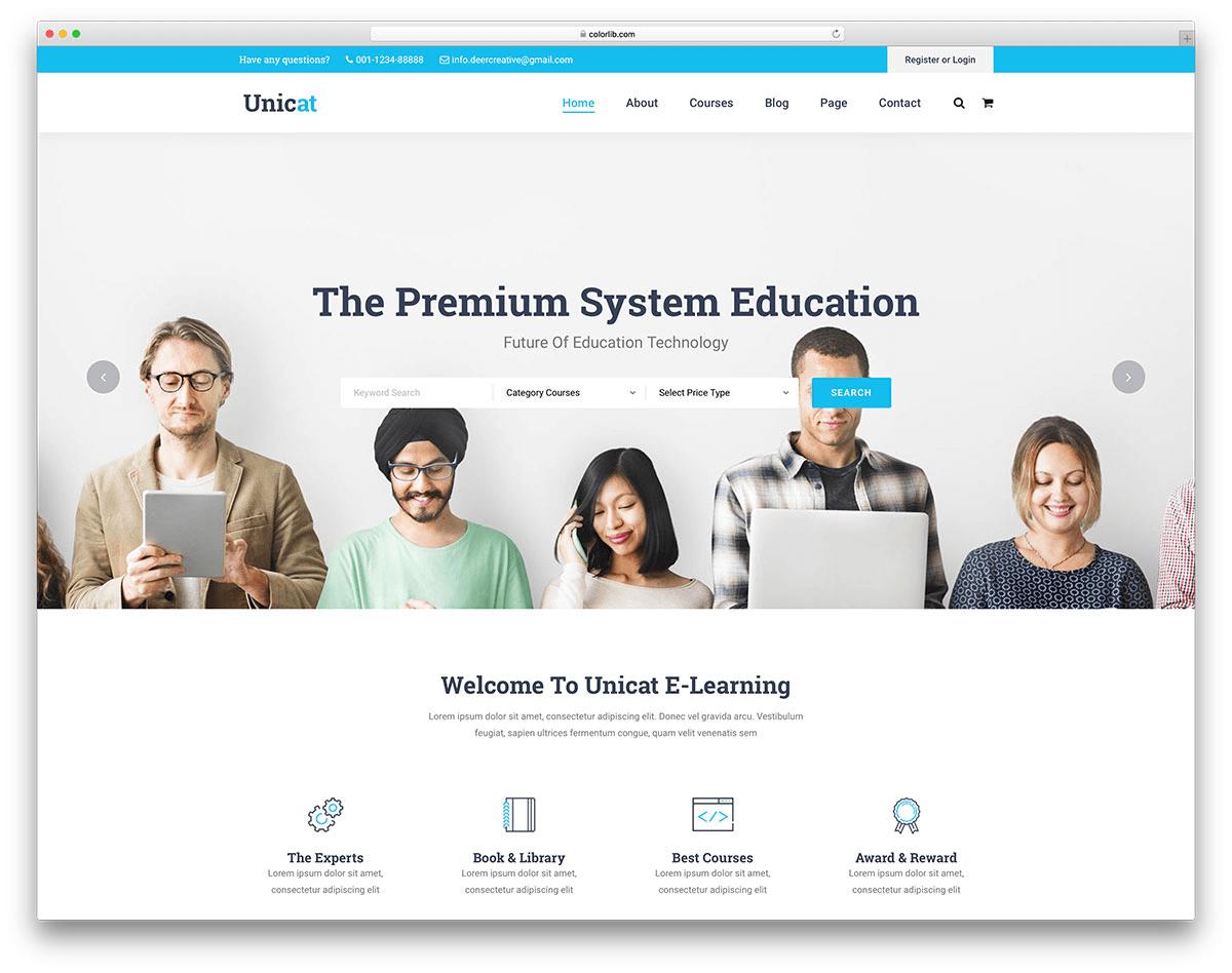 Website giáo dục cần môi trường tương tác thân thiện và truy cập nhanh