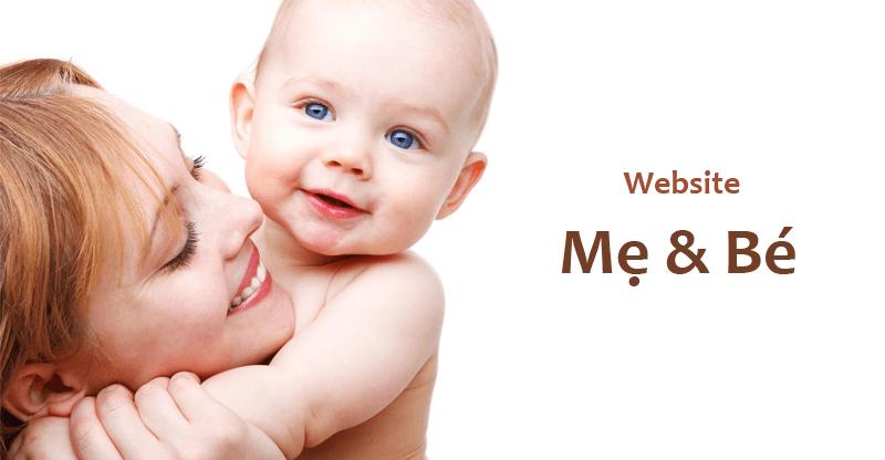 Website mẹ và bé mang lại nhiều lợi ích