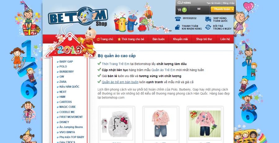 OMNIS là đơn vị cung cấp mẫu website mẹ và bé chuyên nghiệp