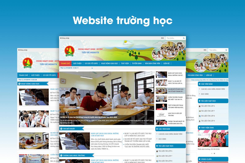 Cần sở hữu cho mình một Website trường học – giáo dục