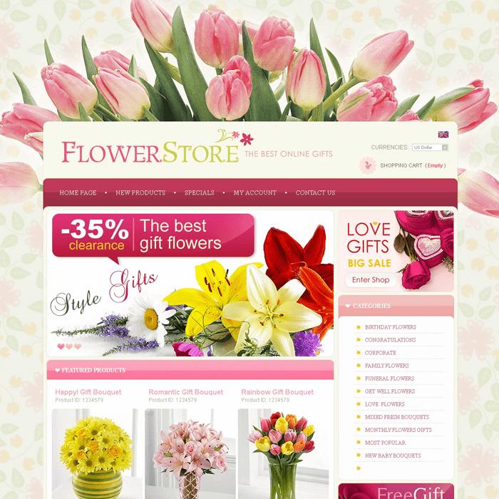 Website hoa tươi với đầy đủ các tính năng cho người dùng