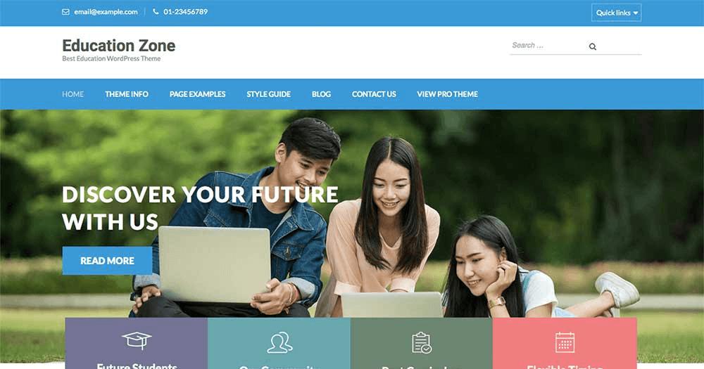 Website giáo dục chuyên nghiệp