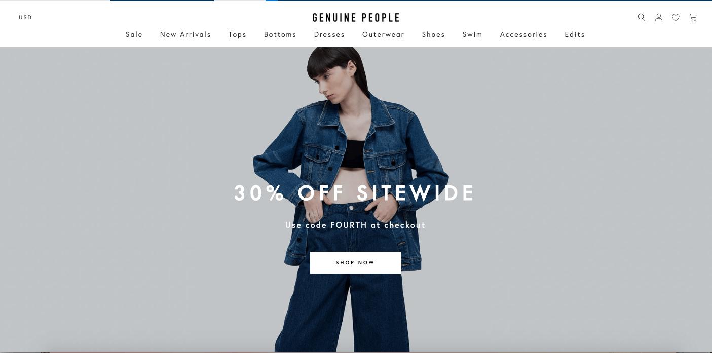 Website thời trang quảng bá hình ảnh thương hiệu trên diện rộng