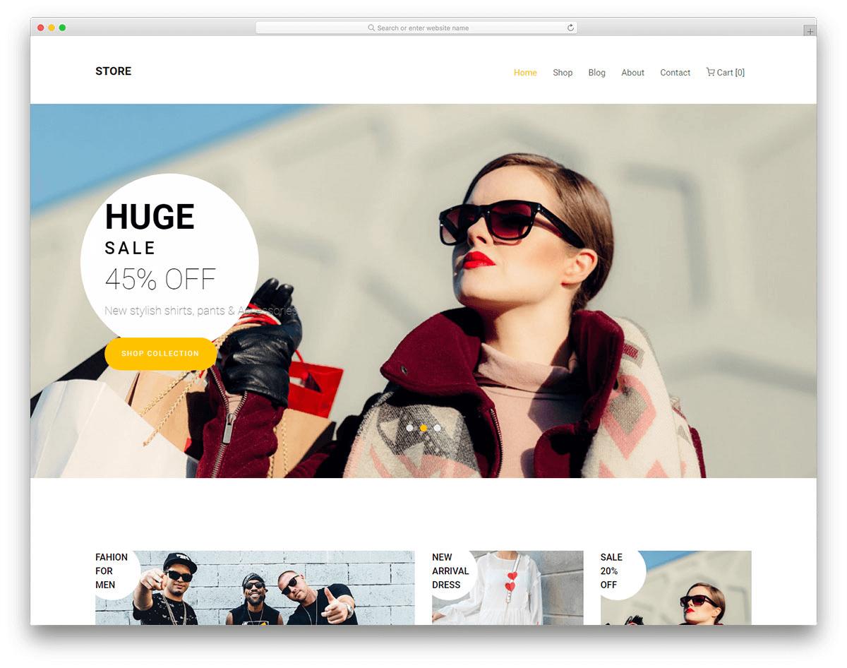 Website thời trang tiết kiệm thời gian mua đáng kể